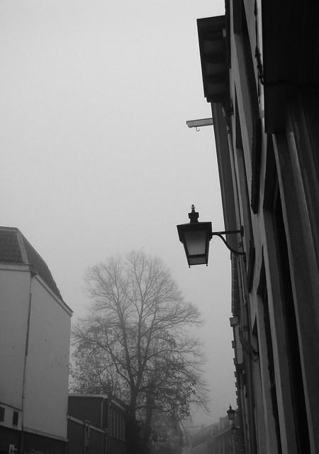Een Straat in de Mist