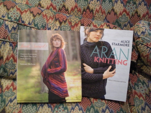 Knitting books - the perfect present by paintermom63