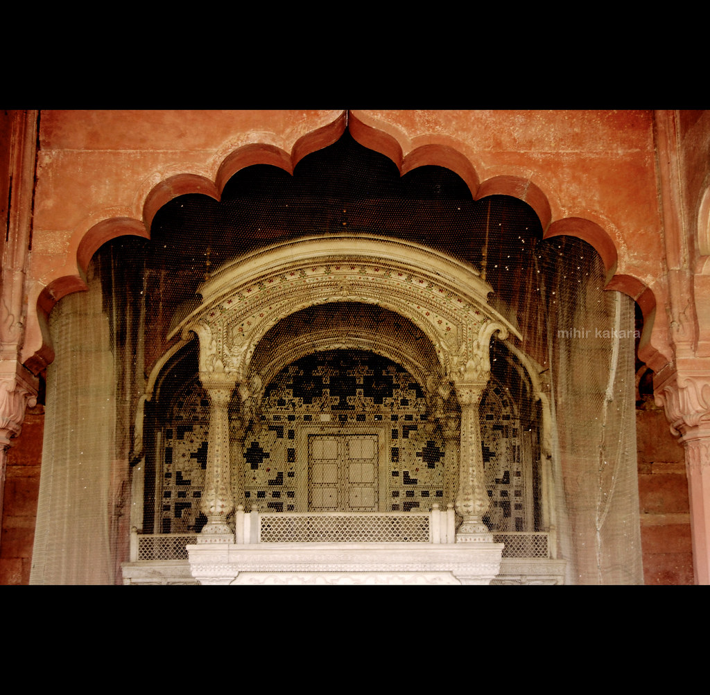The red fort ix architecture diwan i aam the for Diwan i aam images