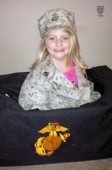 Day 226 - Military Child of the Week