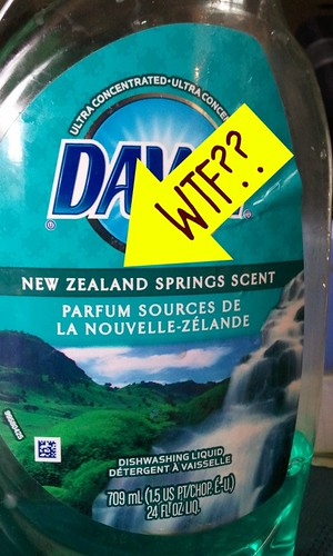 New Zealand Scented Dish Soap