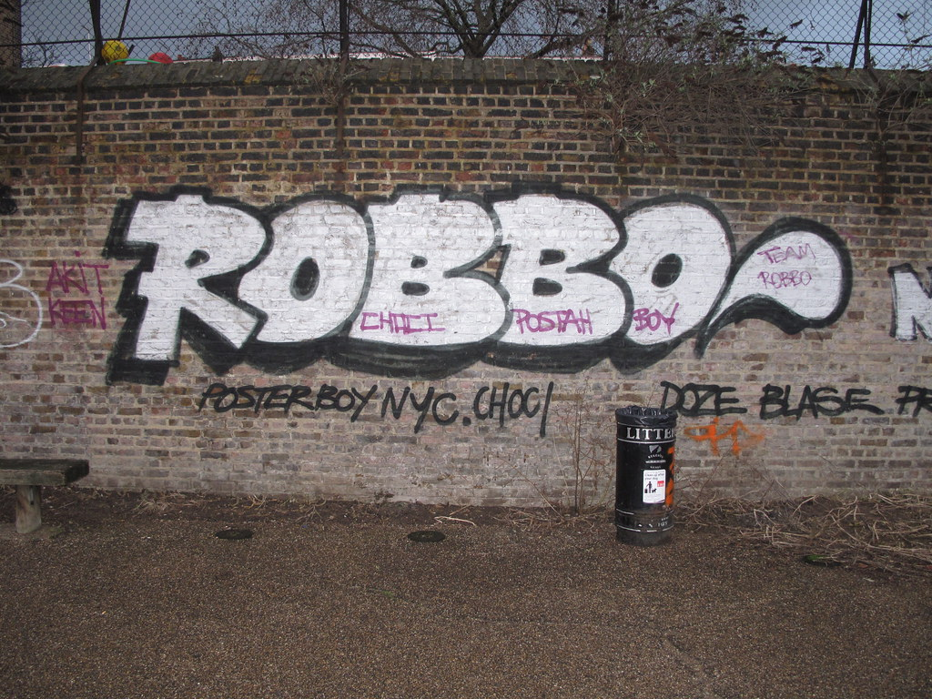 Robbo graffiti