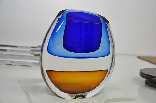Finished Glass Sculpture Infusion Collection