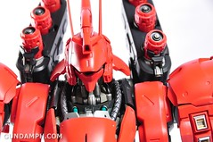 Formania Sazabi Bust Display Figure Unboxing Review Photos (136)