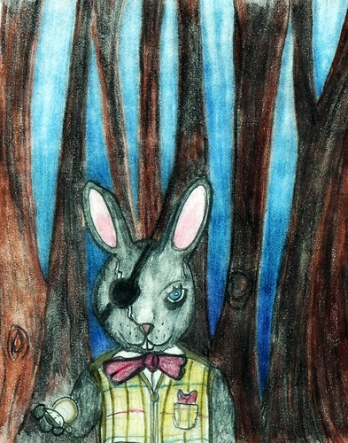 The grey rabbit by Giant Hamburger