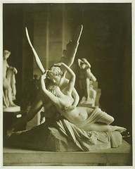 Canova's Cupid and Psyche, 1870, by Adolphe Braun