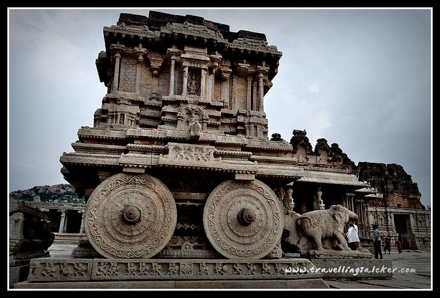Hampi: Stone Chariot, Vittala Temple
