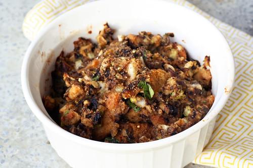 Gluten-Free Mushroom Stuffing (Vegetarian)