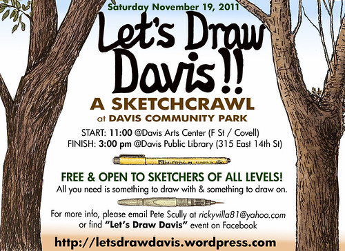 let's draw davis community park