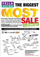 Fella Biggest Most Sale 11 - 28 Nov 2011