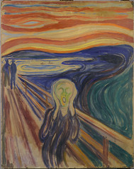 Edvard Munch's, The Scream, 1910 version