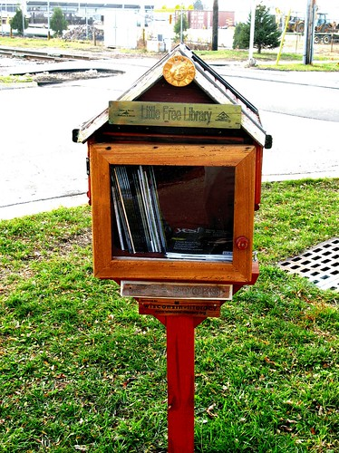 Little Free Library by WI Literacy Network wisconsinliteracy dot org