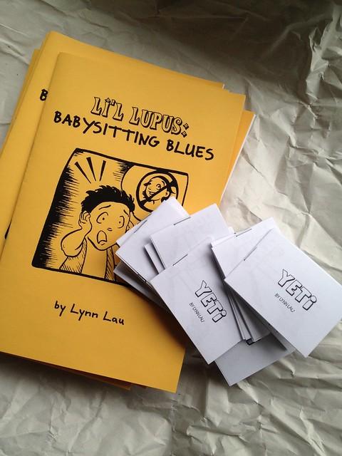 Li'l Lupus & Yeti minicomics