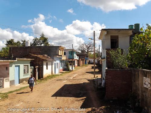 Trinidad residential street