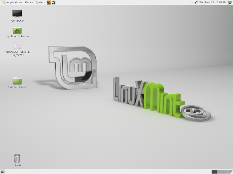 Install Linux Mint Mate Desktop On Ubuntu 11.10 Oneiric Ocelot