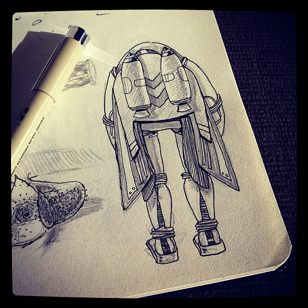  rocket man #doodle (cantando Elton John hehe)
