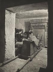 Treasury of Tutankhamun, 1926, by Harry Burton