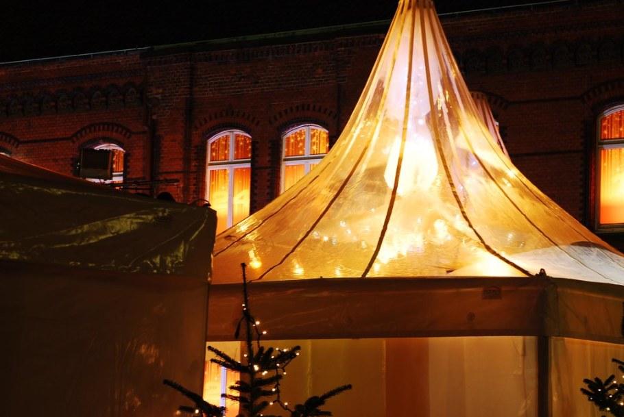 Hafencity Weihnachtsmarkt Zelt
