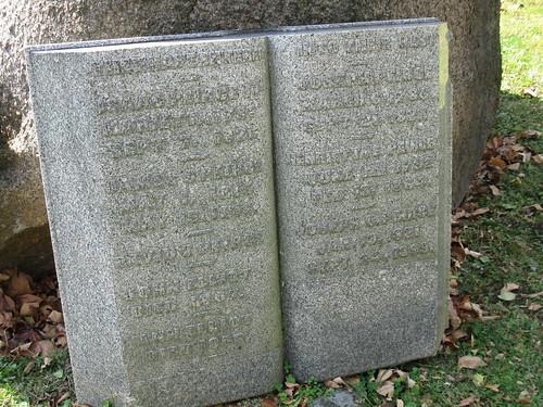 John Elliot (d. 1809) grave marker, Woodland Cemetery, Section 77