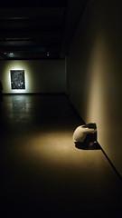 Untitled (stool for guard) by Taiyo Kimura at MONA, Tasmania