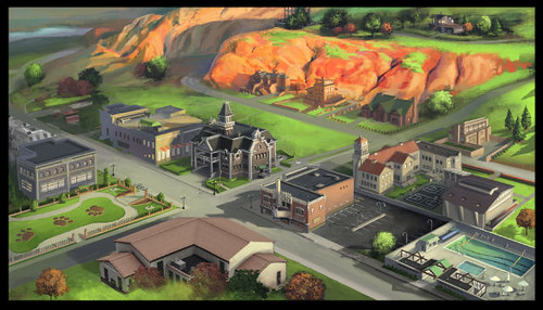 Appaloosa Plains Paint Over Concept Art