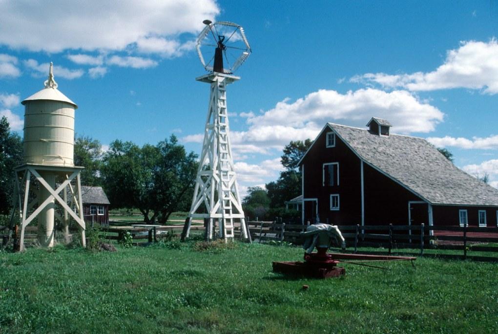 Farm steading, Stuhr Museum of the Prairie Pioneer, Grand Island, NE (1985)