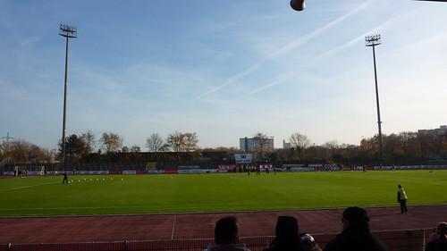 Südstadion im Herbst
