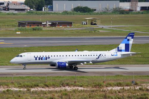 Trip   Embraer 190 @ SBGR