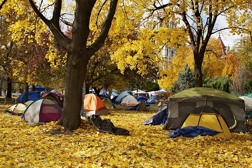 Occupy Albany, 11.11.2011