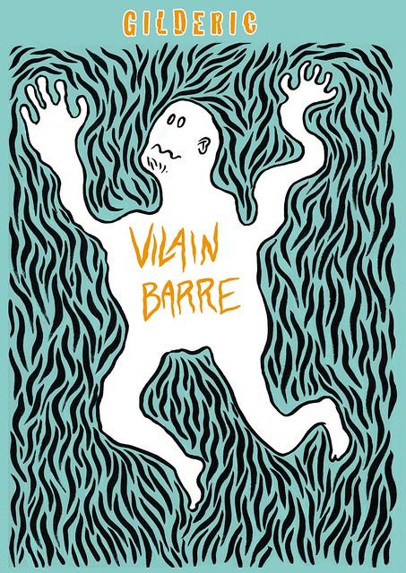 Vilain-Barré (Couverture) - un projet de roman graphique par Gilderic