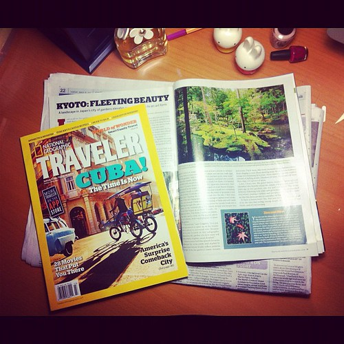 Moss temple in National Geographic Traveler