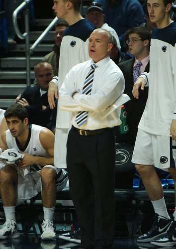 Coach Chambers on the Sideline