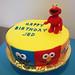 Sesame Street Face Cake