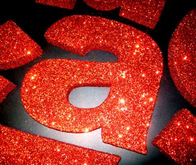 red-glitter by Signmakersuk
