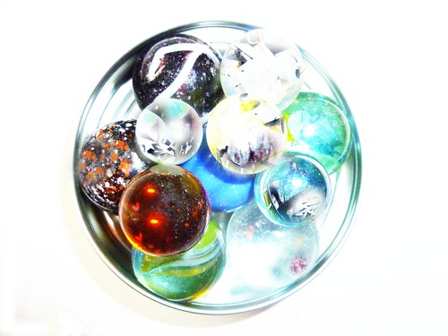 lid marbles altered by rejectamenta
