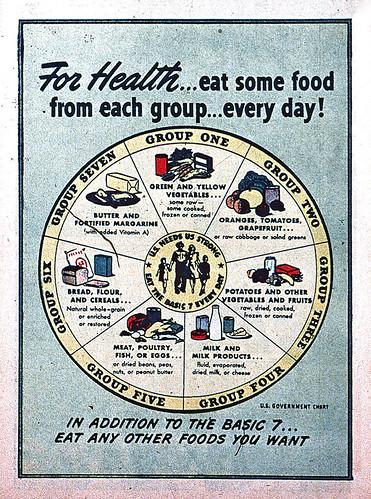 Seven Food Groups fiche