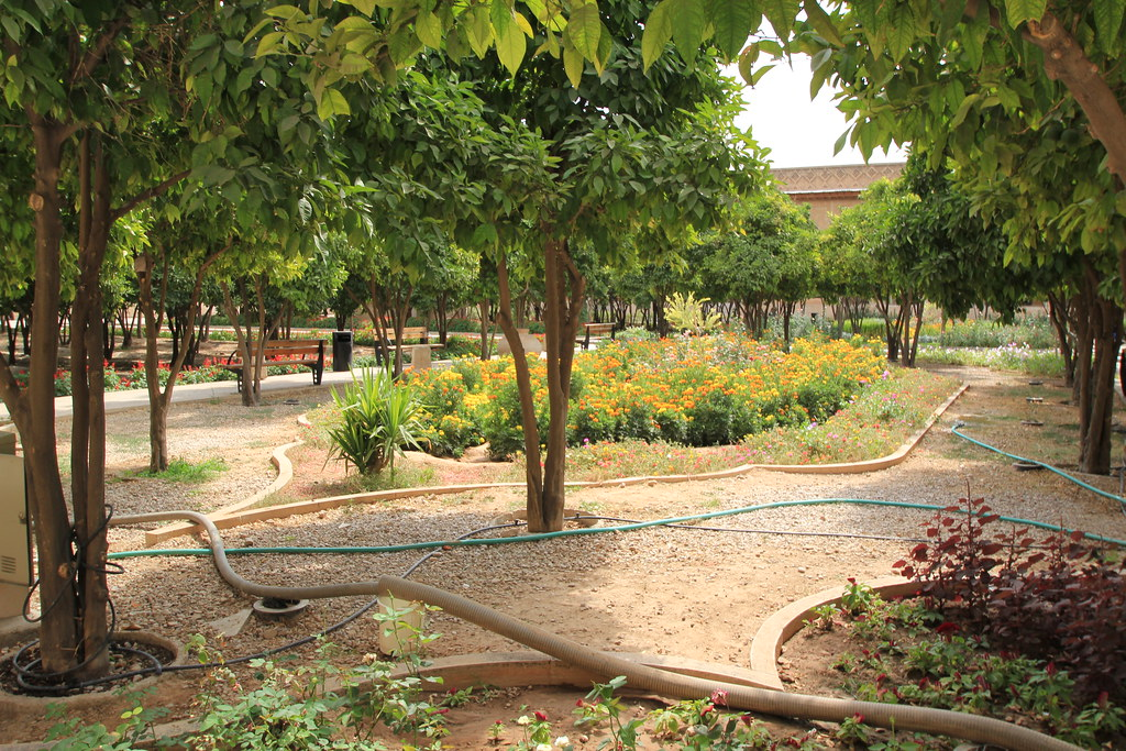 Courtyard of Arg of Karim Khan