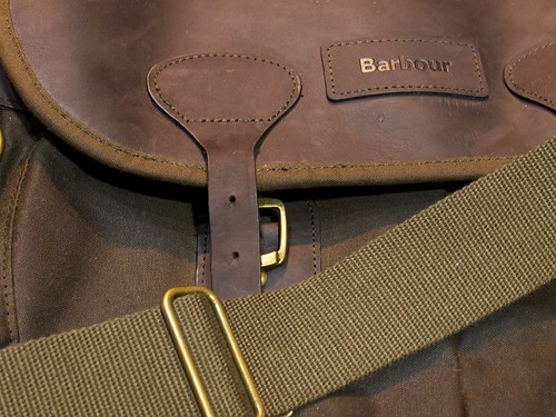 Barbour® Wax and Leather Tarras Bag