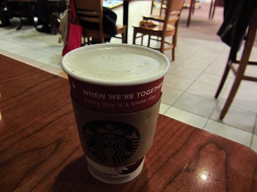 Starbucks - Tazo Chai Eggnog Latte