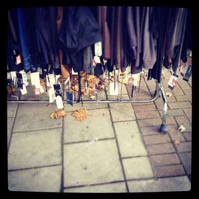 SALE RAIL #london #wanstead #clothes #vintage #pavement