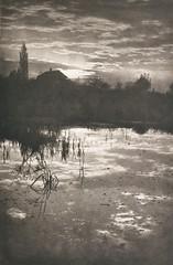 Am Weiher, 1901, by F. Prunnot