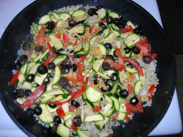 couscous & veggies