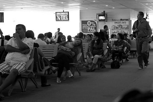 Delayed Flight Davao International Airport
