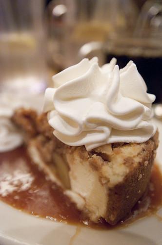Dutch Apple Caramel Streusel, The Cheesecake Fractory, San Francisco