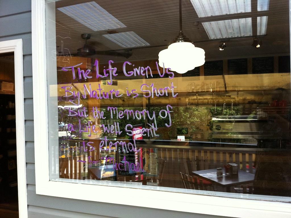 Bangalow Espresso & Pizza Bar Remembers Michael Molloy