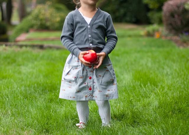 little apples hopscotch skirt