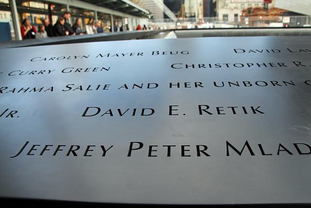 9/11 Memorial, NYC 8