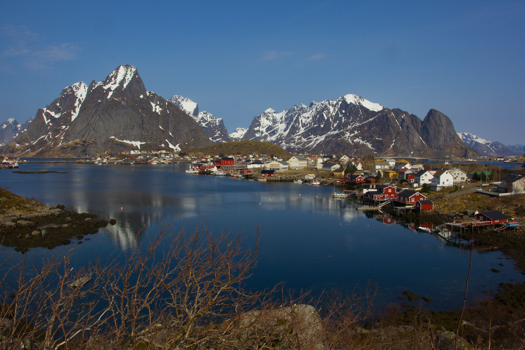 Reine, probably the world's most photoscenic village. Southern Lofoten Islands (from our april 2011 visit)