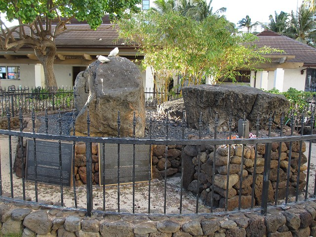 Wizard Stones at Waikiki