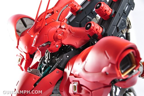 Formania Sazabi Bust Display Figure Unboxing Review Photos (131)